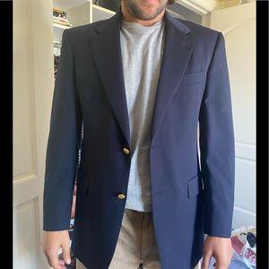 Men's classic blue blazer size 40